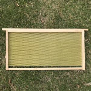 Beehive wood frame with foundation