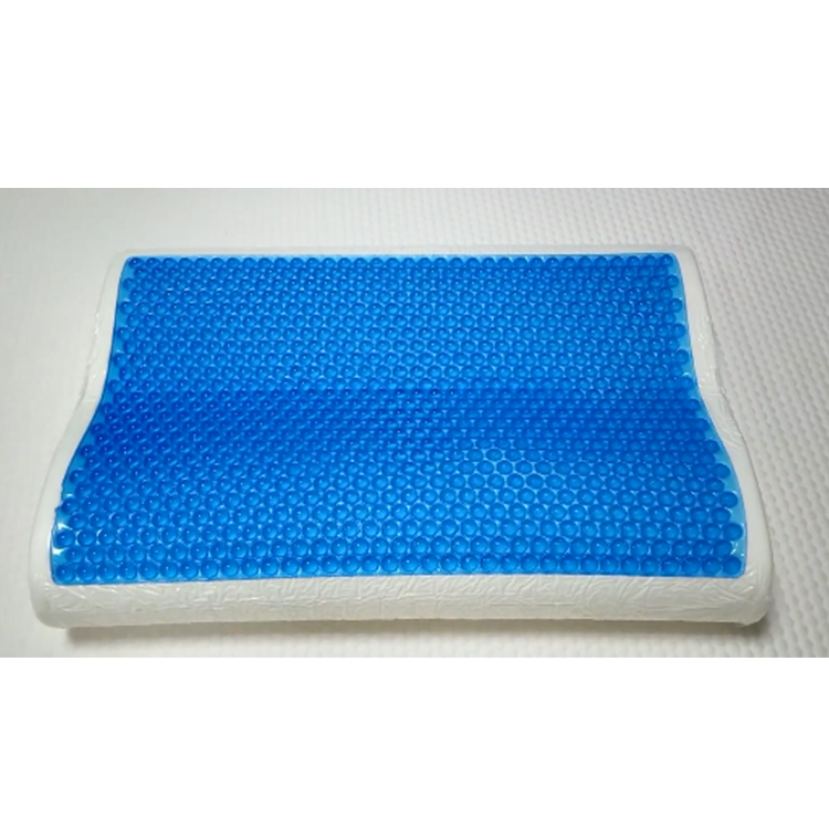 China cooling gel pillow medical silicon gel memory foam pillows
