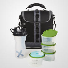 2016 New arrival and best meal managemant bag Lunch Bag Kit with Set of 1-Cup Containers