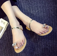 Hotsale flat shoes summer sandals casual woman fashion lady slipper