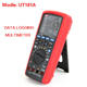 UT181A True RMS Datalogging Digital Multimeters DMM Capacitance Temperature Meter wRe Chargeable Li Battery EU Plug