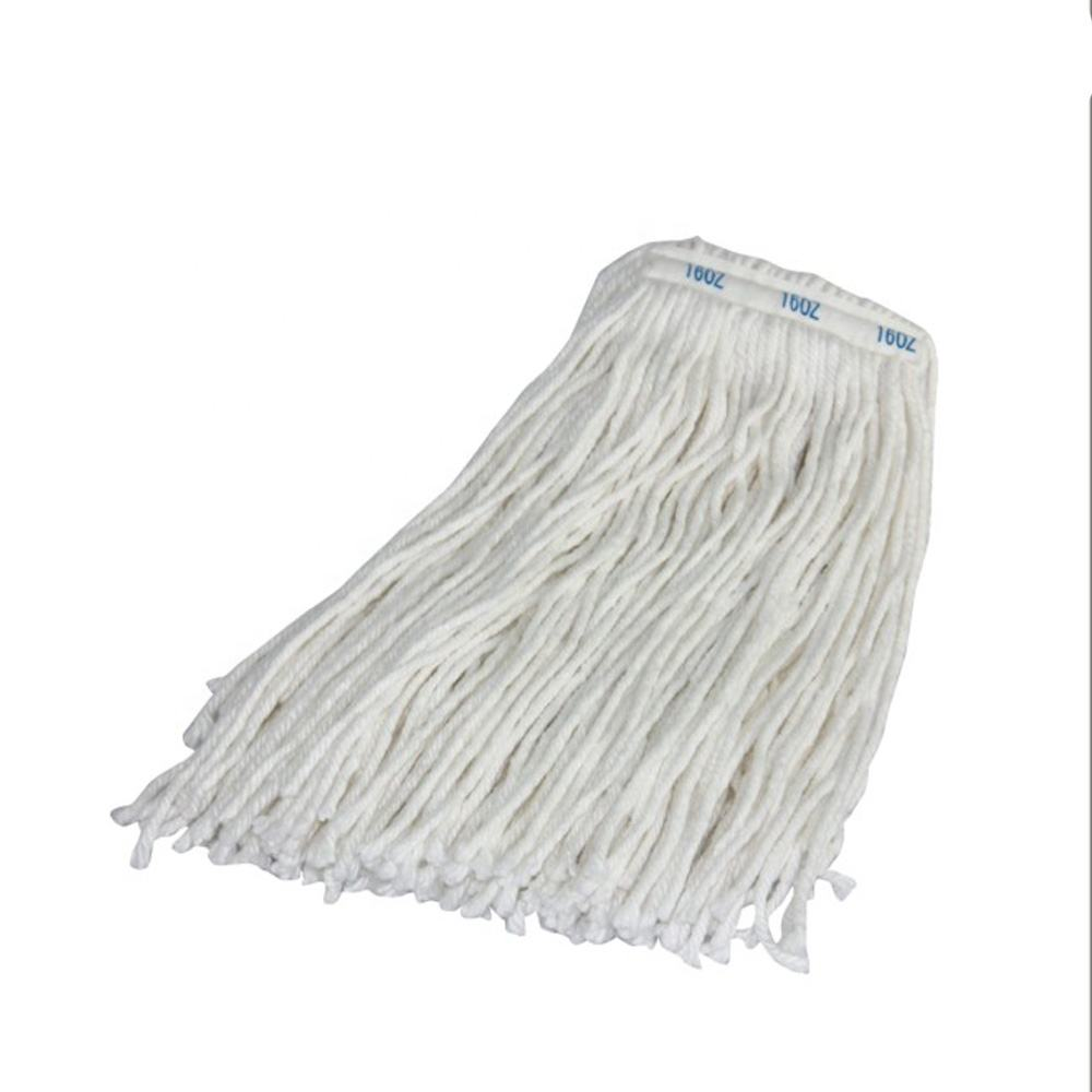 Super speed absorbent cotton mop for disposable medical cleaning