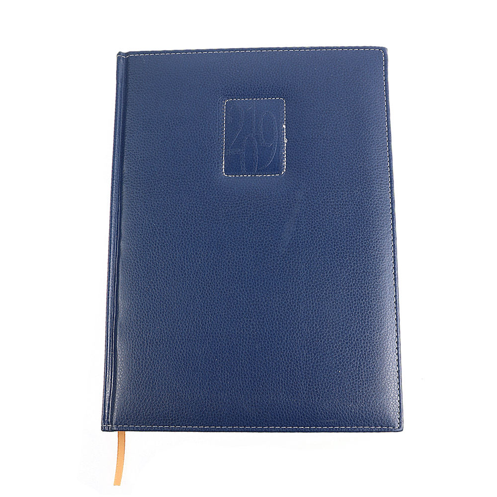 Custom Printing Business Pu Leather A5 Customised Diary Agenda Planner Notebook
