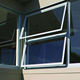 aluminium frame insulated windows /aluminum tilt and turn side hung window in guangzhou