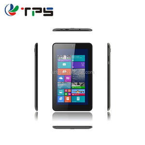 7 inch window 7 tablet pc met dual camera 2 GB DDR3 + 64 GB HD MI Quad core tablet pc IPS display, tablet pc 7 inch