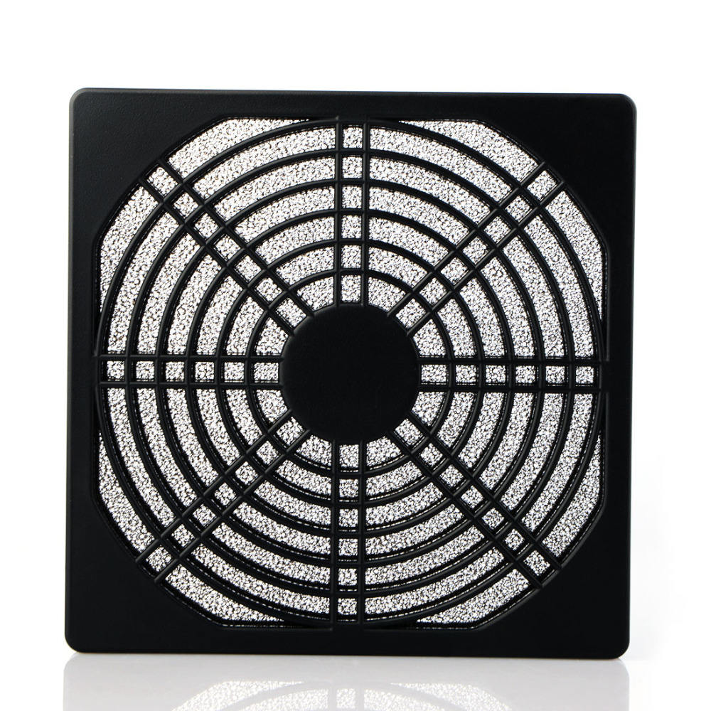 80mm PC Computer Fan Stofkap Case 3 in 1 Stofdicht Spons Filter Mesh Fan Vergiet