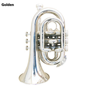 Sliver Plated Bass Instrument Tenor Bb Sleutel Trompet