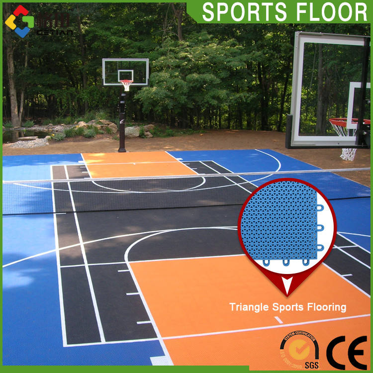 Hot sale durable good costs interlocking sport court basketball,antislip interlocking tiles sports flooring