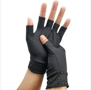 Amazon selling custom fingerless arthritis compression copper hands gloves