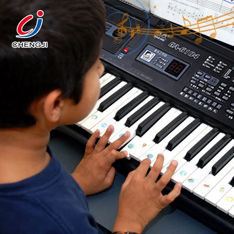 High quality music 37 keys keyboard toy piano electronic organ with microphone