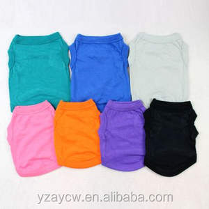 Pet Vest Breathable Summer Cotton Sleeveless T-Shirt Small Dog Cat Clothes