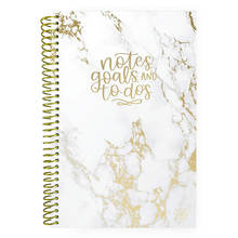 2020 new arrivals To do list notebook calendar the agenda planner notebook marble Daily Planning System Tear