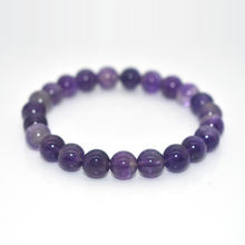 Trade Insurance High Grade 4/6/8/10/12/14/16MM Natural Amethyst Bracelet