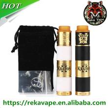 2018 hottest new mech tube mod kit Kratos high quality than battle master tower mod desolator kit wholsale Kratos kit in stock
