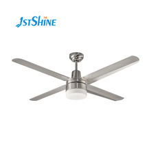 manufacturer brushed nickel metal blades AC 110V ceiling fan light