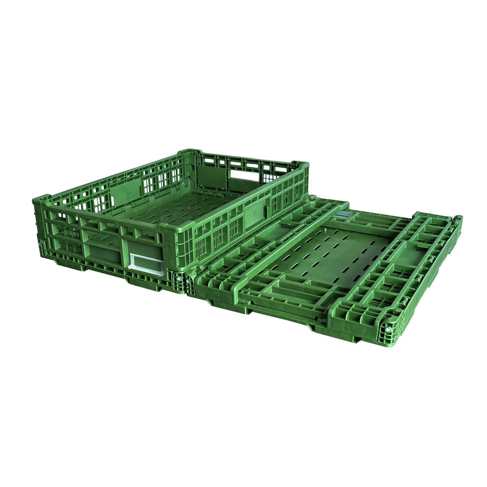 600*400mm Bread Plastic Folding Crate, Mesh Crate, Vegetable Crate