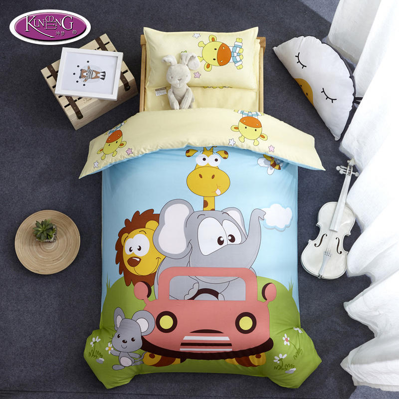 China Factory Wholesale Cotton Bed Cover Baby Bedding Sets China