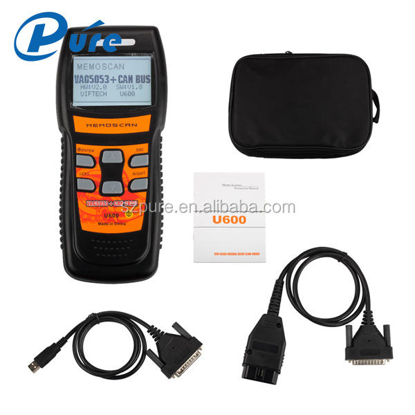 2016 New Released Memoscan U600 Diagnostic Tool for VW for Audi OBD2 CAN Scanner U600 With Multi-languages