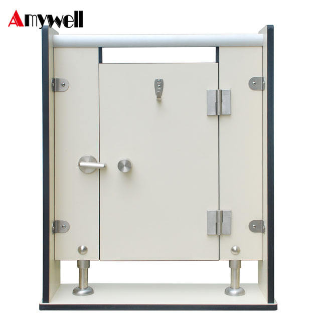 Amywell wholesale waterproof woodgrain Formica hpl toilet partition