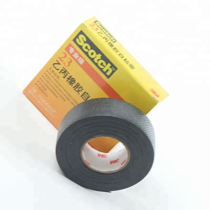 3 m 23 # self-fusing Hoogspanning 600V-6.9KV splicing elektrische isolatie <span class=keywords><strong>tape</strong></span>