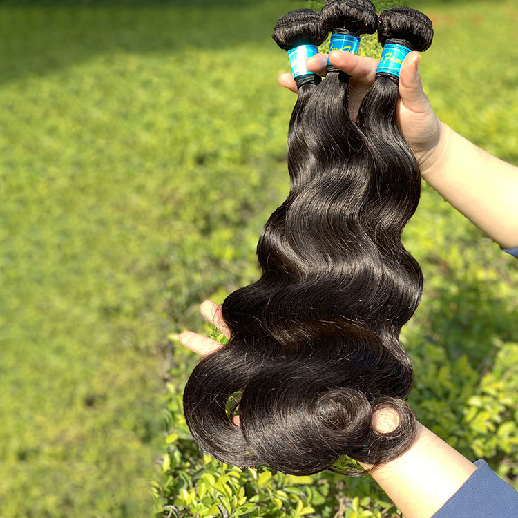 Luxefame 10A Grade Unprocessed Raw Human Hair, Cuticle Aligned Raw Brazilian hair Weave For Wholesale