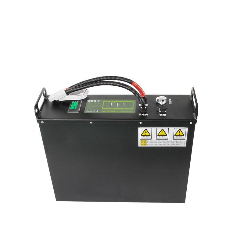 Deep cycle 100ah 48v lithium battery forklift replacement li ion 48volt 200ah 400ah battery