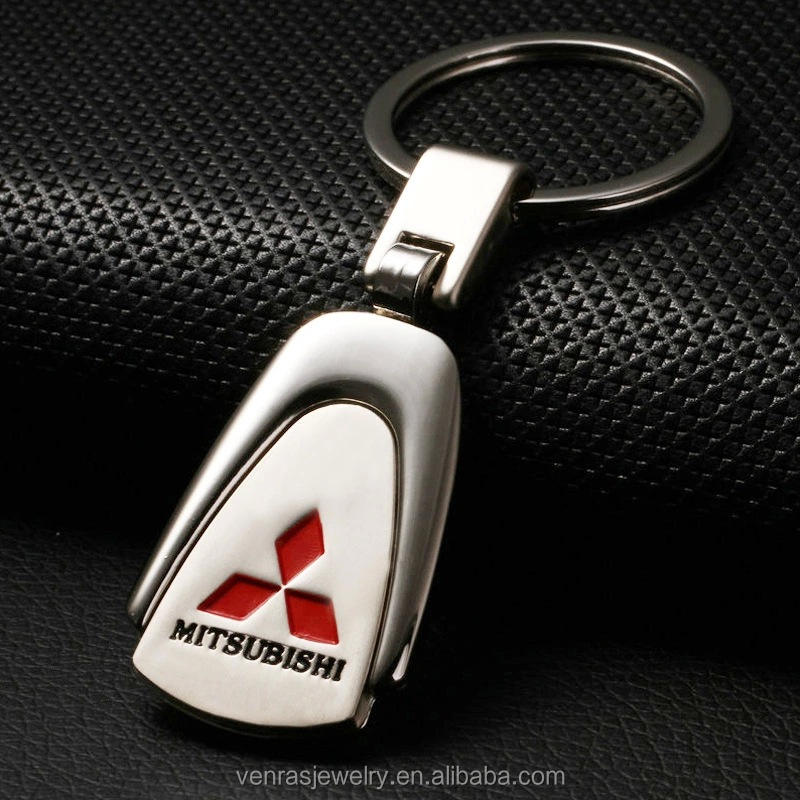 Promotional Gifts Customized Classic Mitsubishi Car Logo Metal Keychain