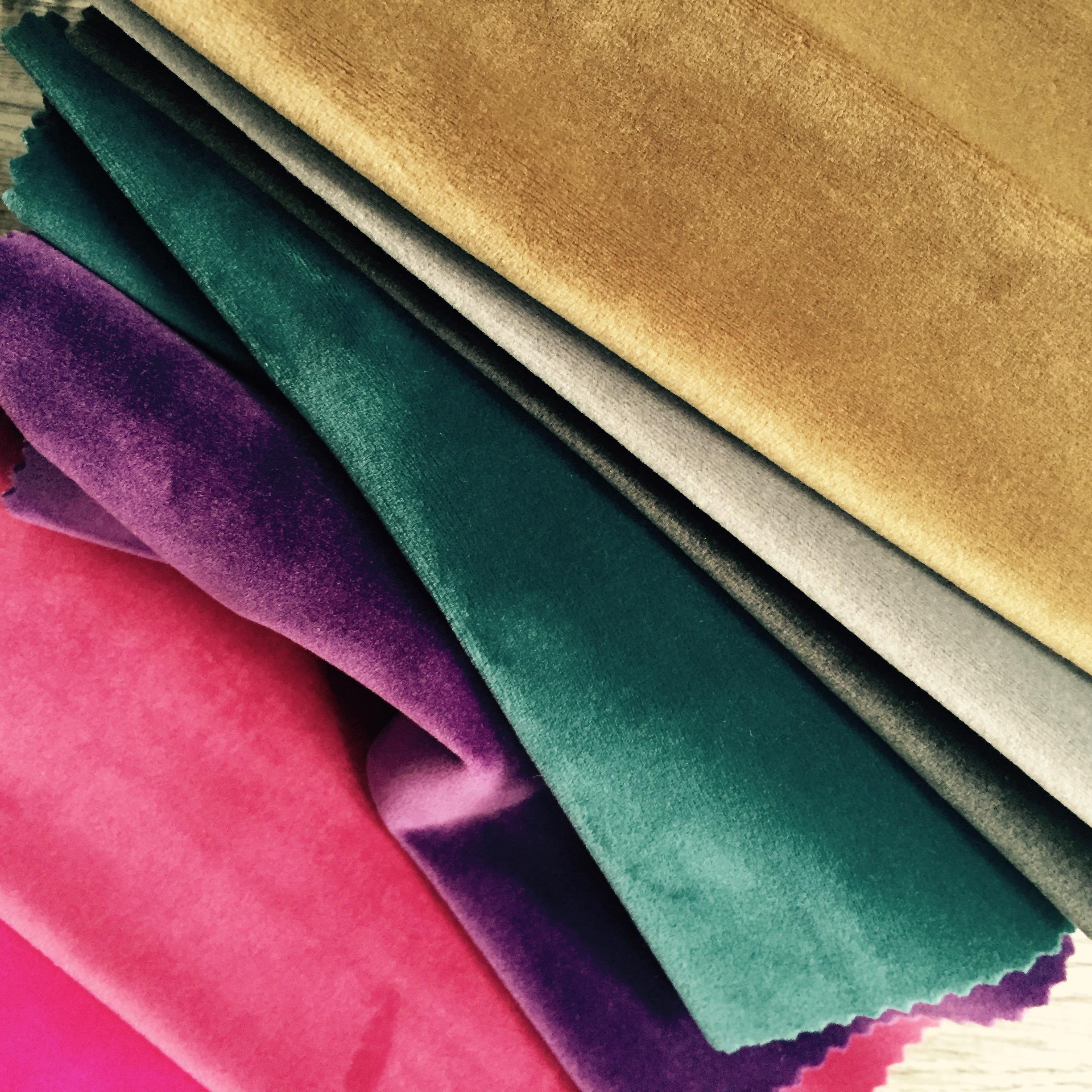 French luxury velvet, upholstery velvet, Waterproof velvet fabric