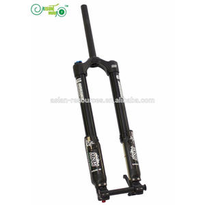 Latest RisunMotor DNM Mountain Bike Fork USD-6 Air Suspension Downhill Bicycle Front Fork, Down tube: 15 mm Axle/110 mm or 20 mm