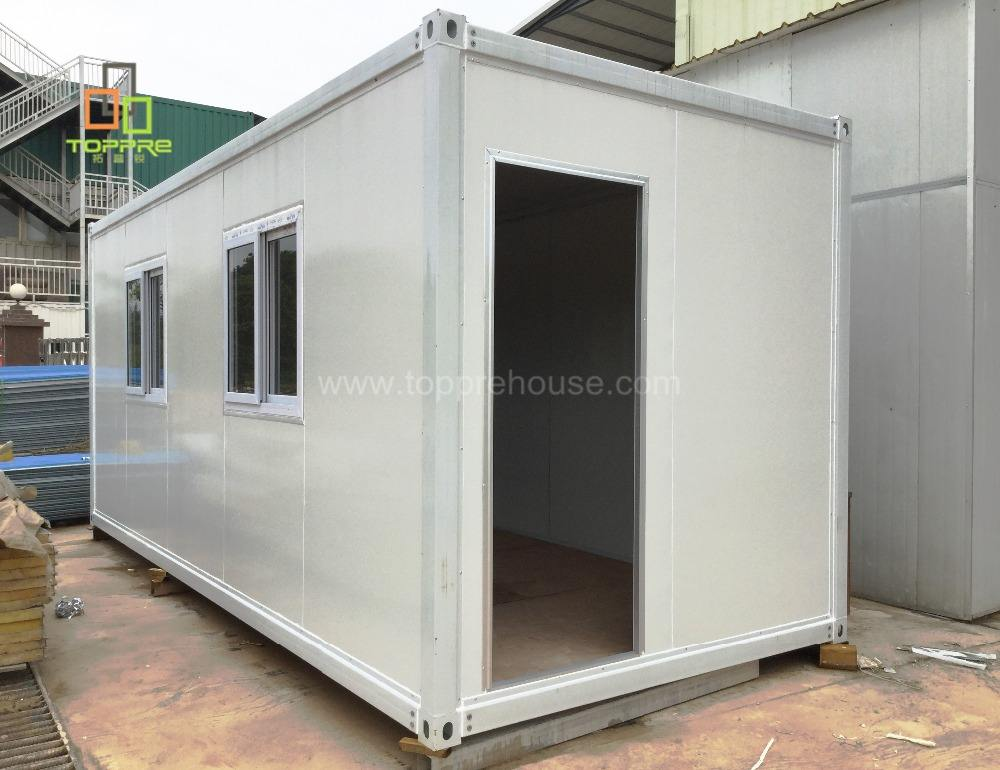 Patent design iron steel structure 40 sqm container house prefab modular chalet home