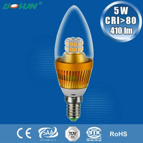 Свеча фарфор 5w светодиодные лампы типа свеча чри> 80 410lm e14