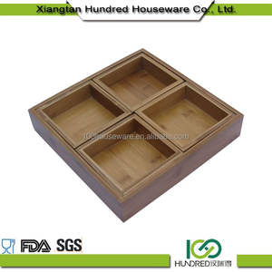 Simple Welcome Wholesales wooden natural serving tray