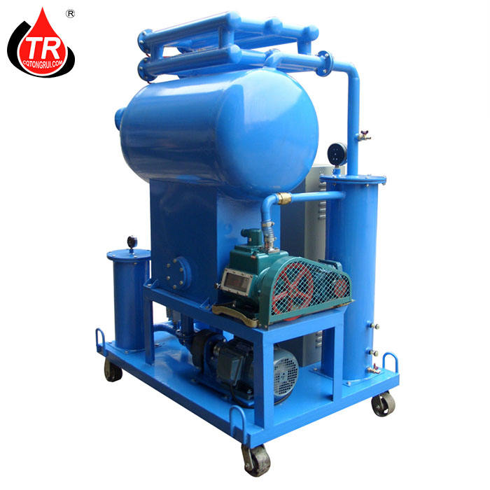 Tongrui used/waste engine oil recycling machine used transformer insulation oil purifier