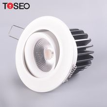 Commercial lighting round mini recessed adjustable CRI 90 cob 220V led downlight 10W