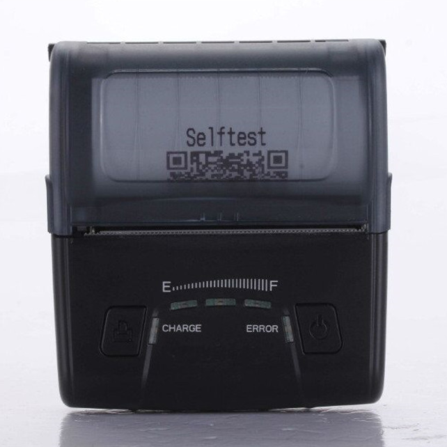 Small Size 80mm Wireless Bluetooth Mini Mobile Thermal Printer