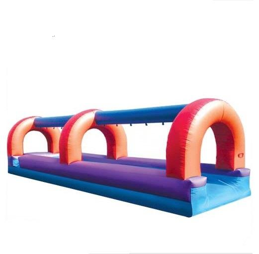 Factory outlet inflatable single lane slide