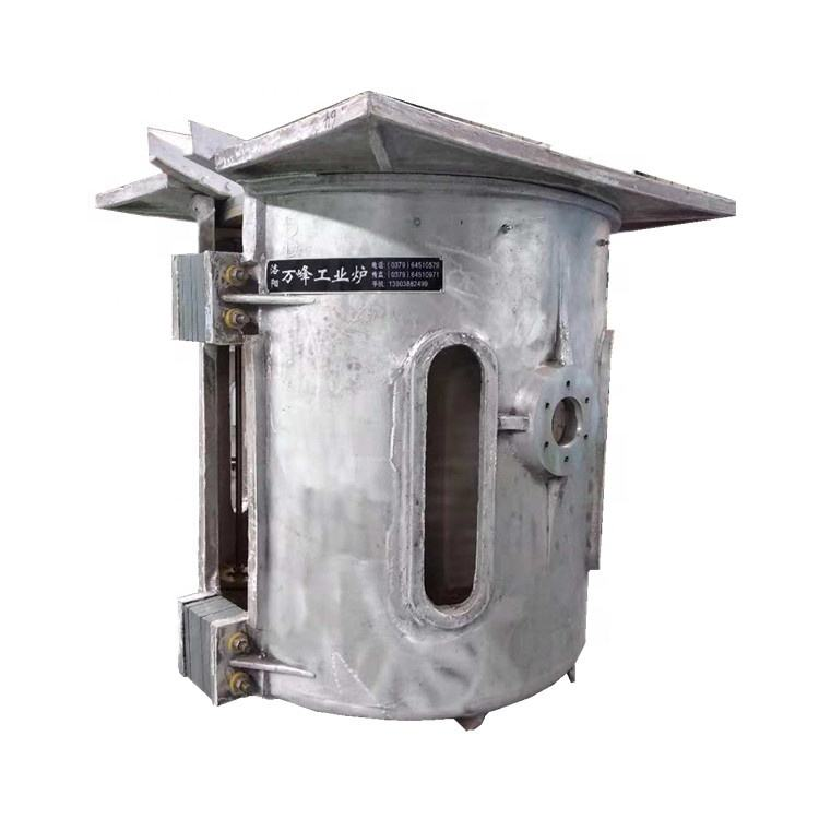 steel precious scrap metal induction melting furnace machine