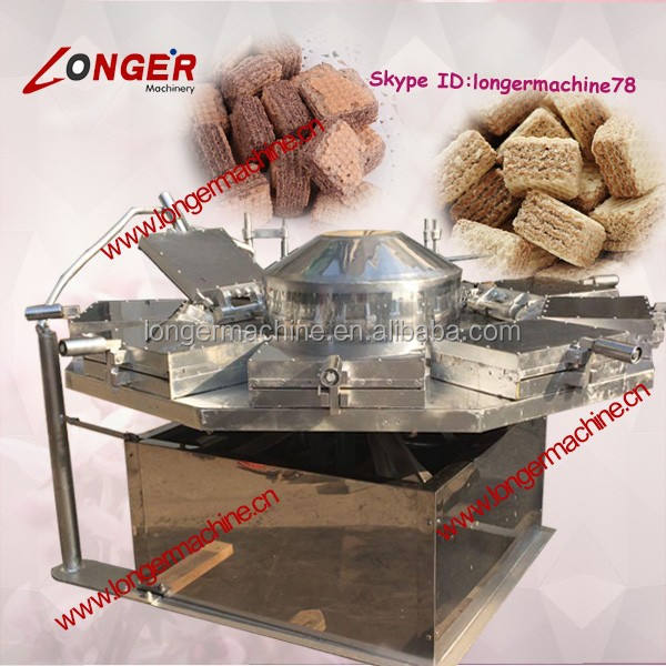 Wafer Biscuit Sheet MakerとRoaste | 9 Plates Wafer Cookie Making Machine