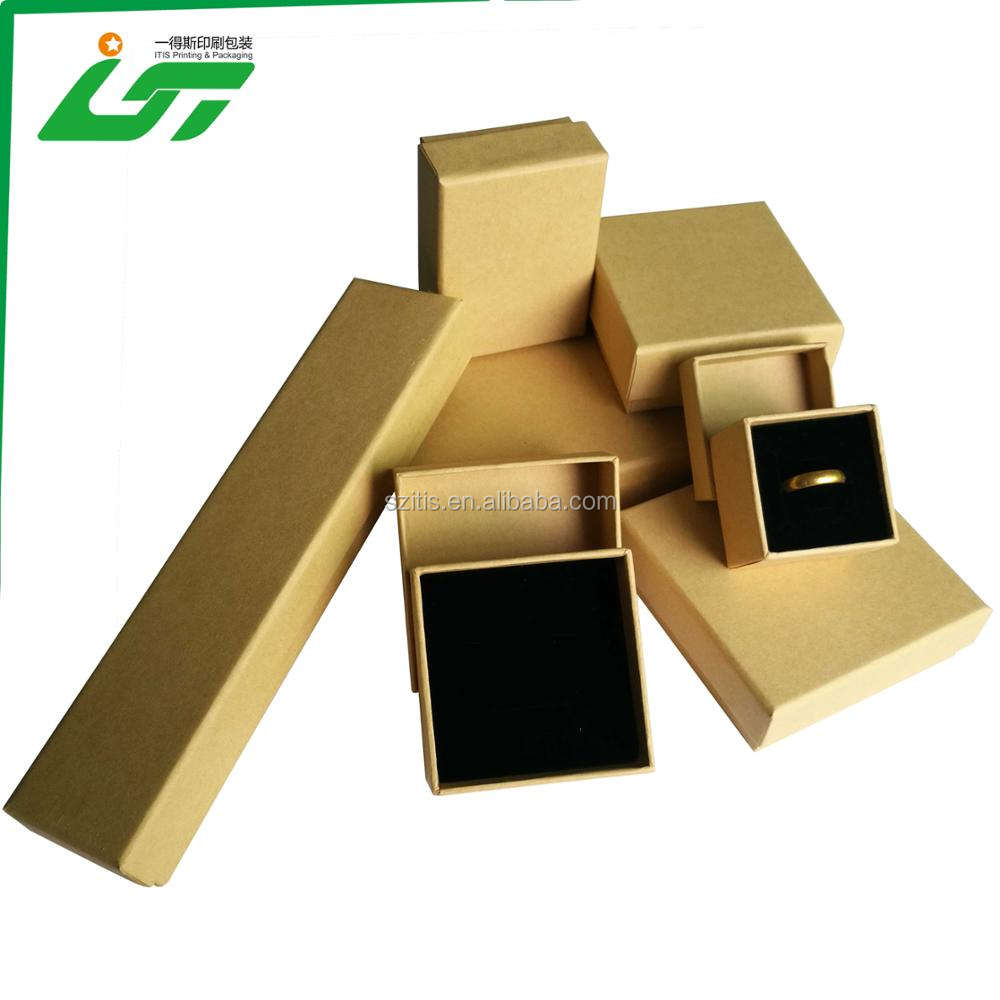 factory direct custom lid and base rigid ring box for wedding ring packaging