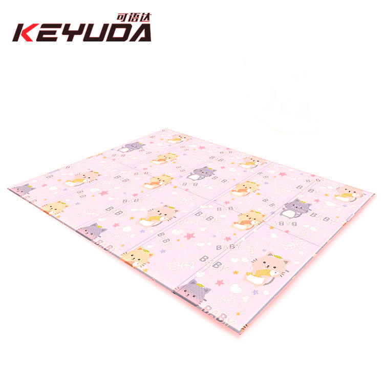 Non-Slip Foldable Waterproof Folding baby mat Gym Foam Floor Pad