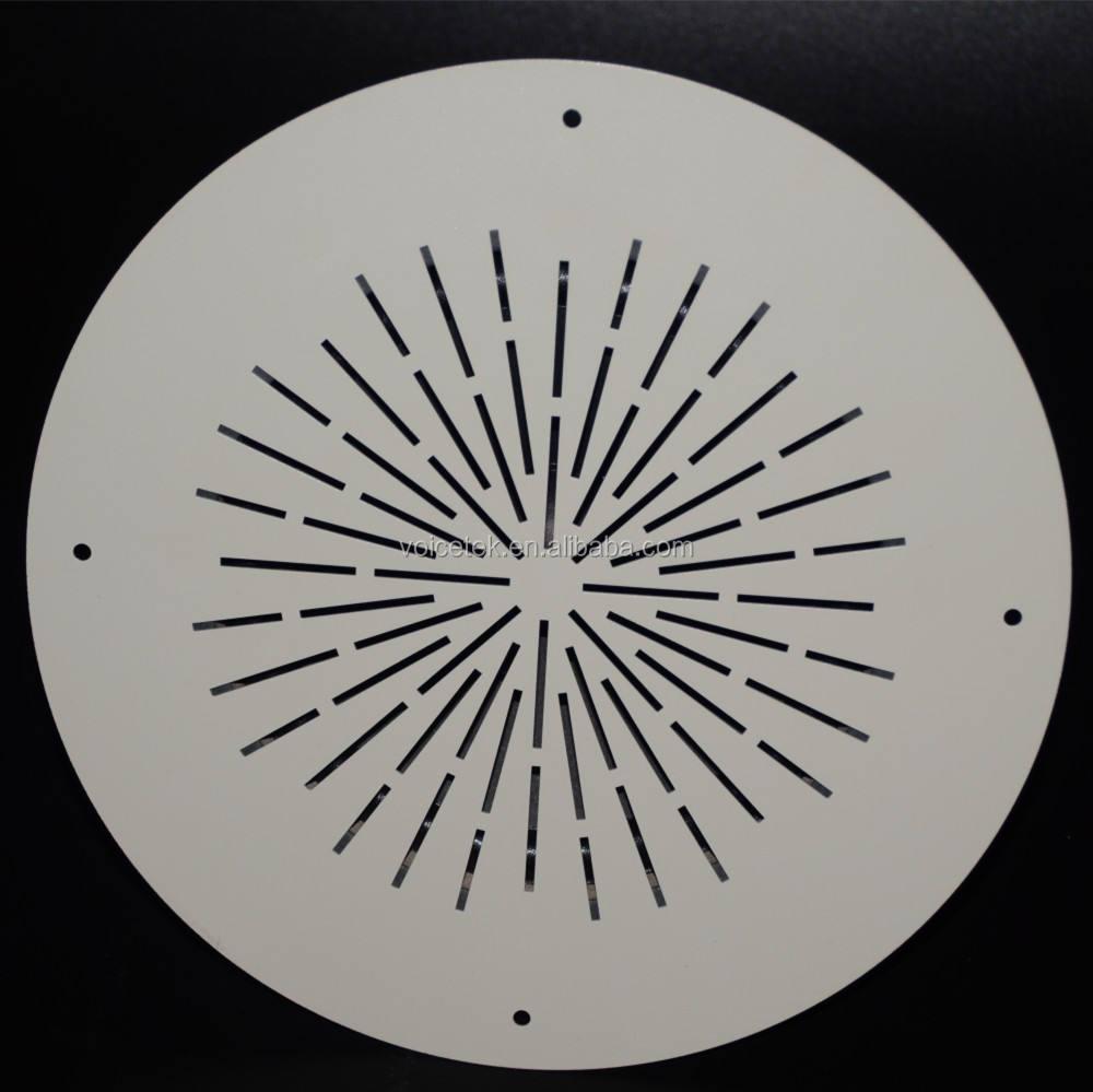 Suono Impermeabile Fissato Al Muro Altoparlante da Soffitto Con Staffa di Plastica E Acciaio Deflettore