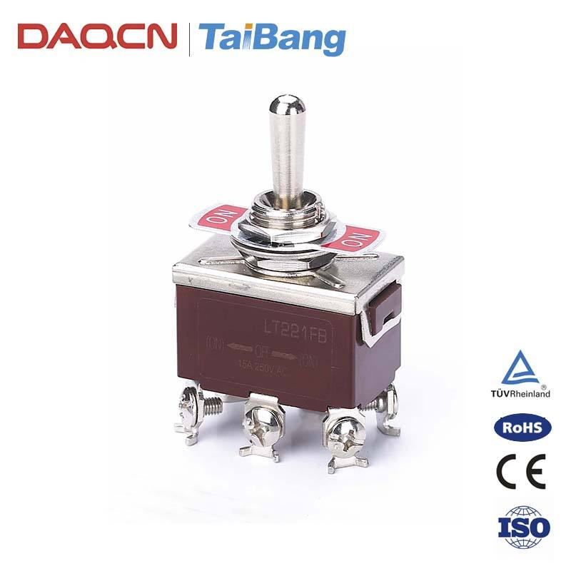 DAQCN High Cost Performance Waterproof 4-Way Momentary Toggle Switch