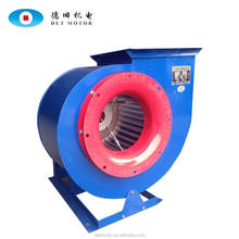 Double air intake configuration ventilating centrifugal blower fan
