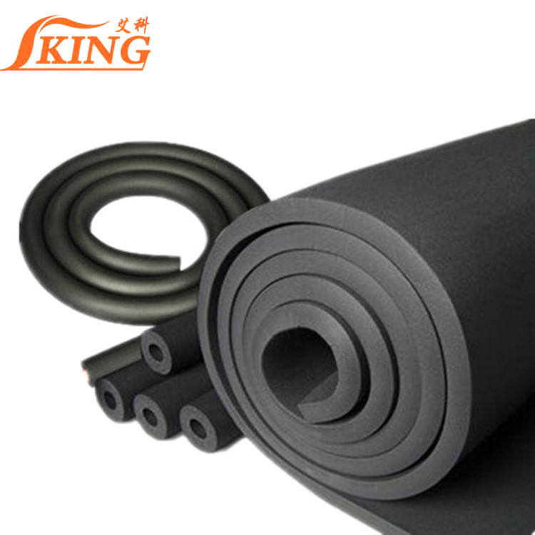 natural latex foam ac insulation rubber sheet