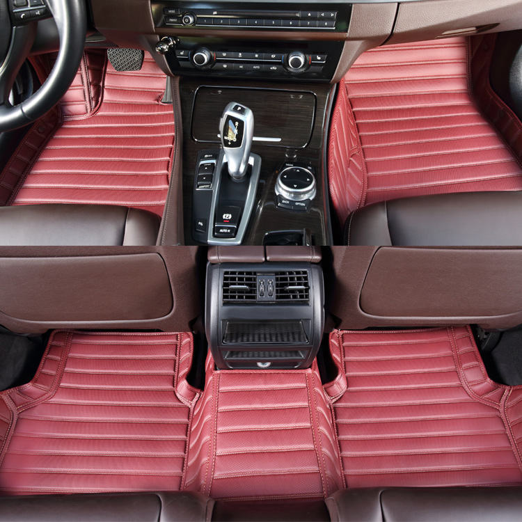 Universal Fit Classic Carpet Floor Mats for Car /& Auto Front /& Rear with Heelpad