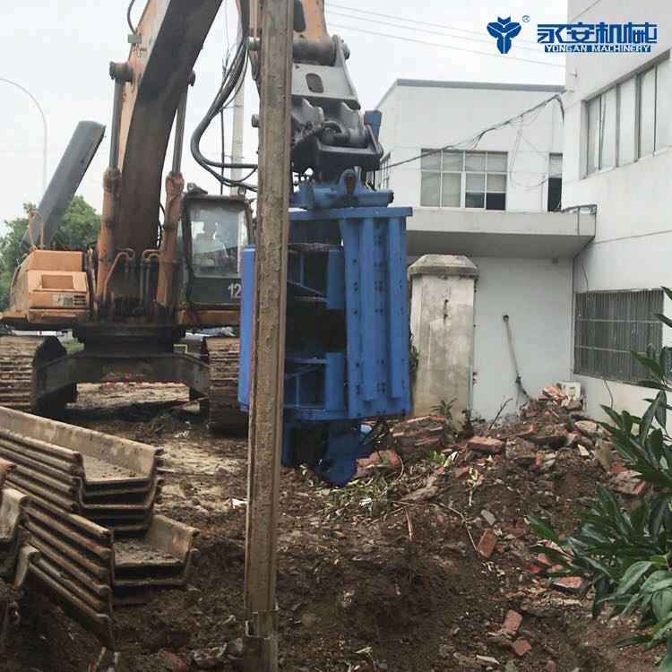 Factory Direct Supply Widely Used Excavator Mounted Vibratory Hammer V-400 Sheet Pile Driver