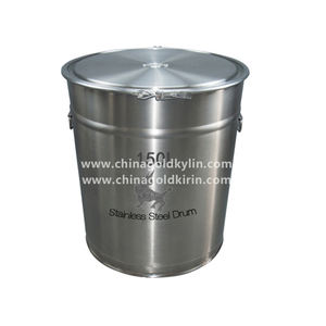 Professional Factory Made Open Top 150L Stainless Steel Drum