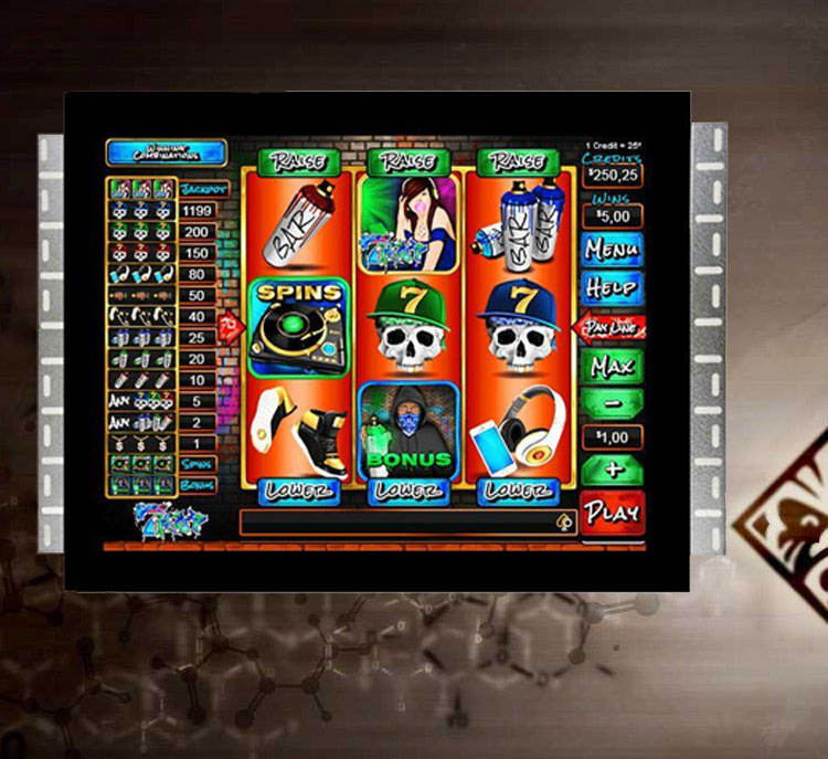 Open frame 22 Inch IR Touch Infrared Screen monitor for IGT/ POG / atronic / WMS /aristocrat Gaming center
