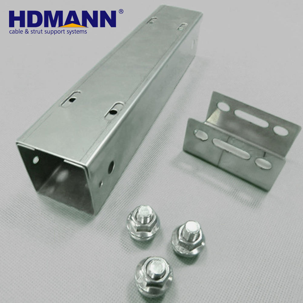 HDMANN On Sale Aluminum Alloy Cable Trunking Metal Trunking Size