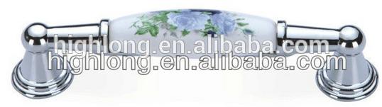 Cromo maniglie in ceramica/porcellana maniglie dal fornitore della cina da wenzhou fabbrica gestire tirare